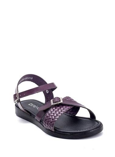 Derimod Kadın Sandalet (128) Casual Mor